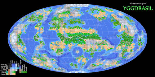 Physical Map of Yggdrasil
