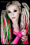 Neon dreads