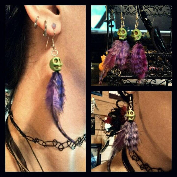 Voodoo Earrings by GrimFay