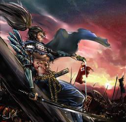Samurai Yasuo by Sachielchen