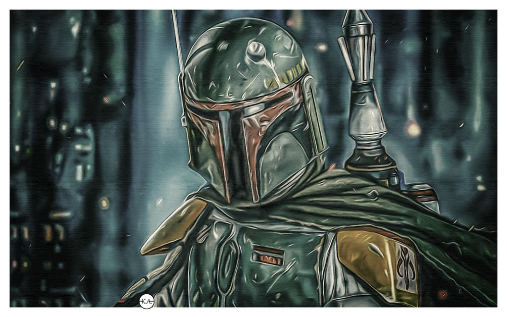 Boba Fett_Star Wars//ART// by KENANN827