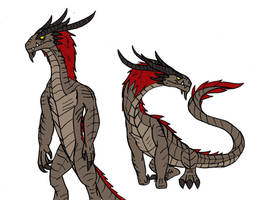 Harry - The Mutant Dinosaur by TheWatcherofWorlds