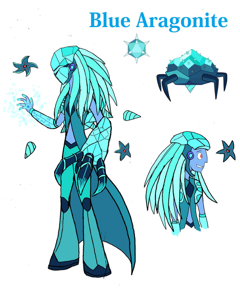 Reformed - Blue Aragonite by TheWatcherofWorlds