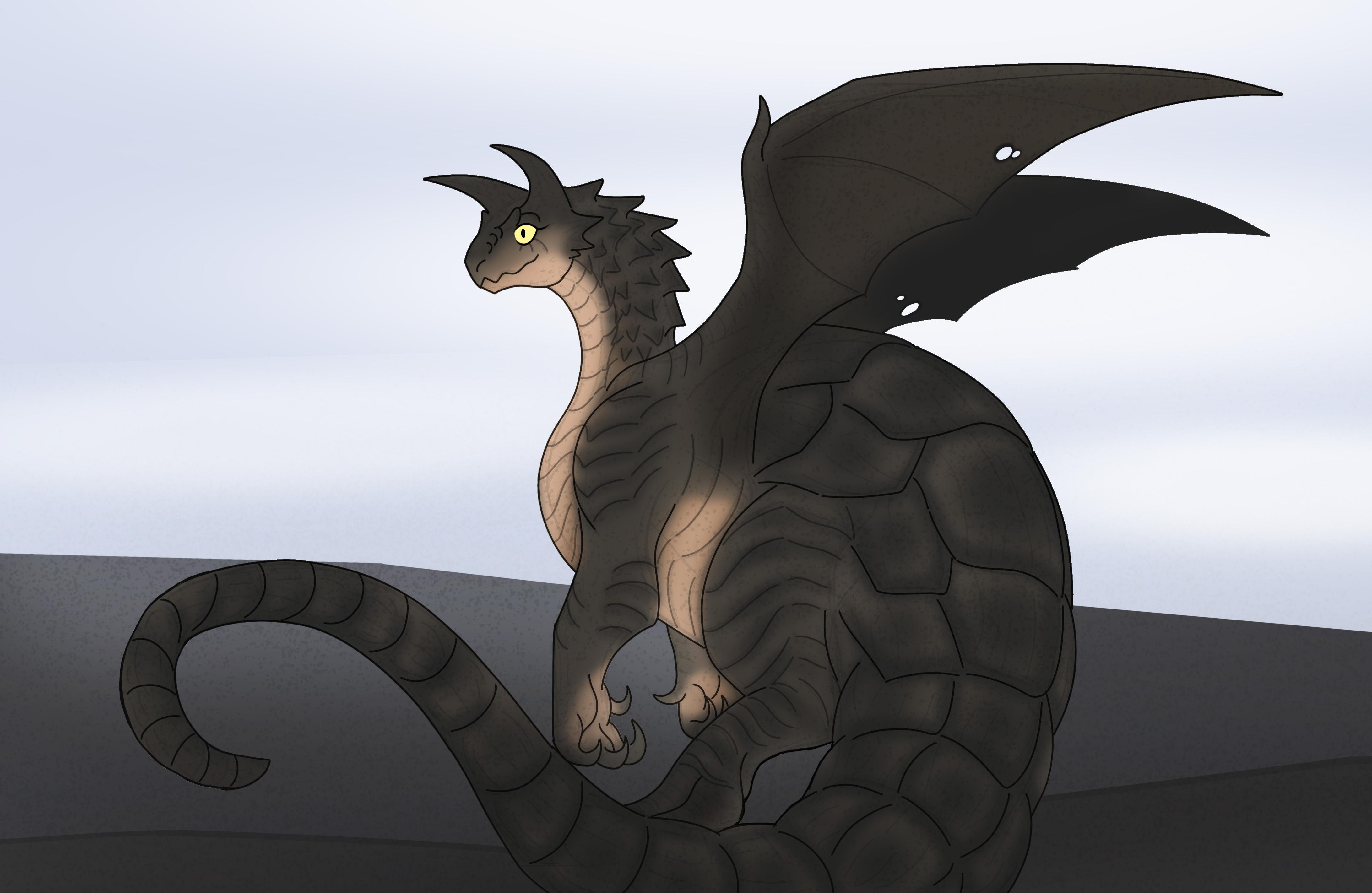 Coal The Sulcatan Dragon