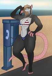 Opossum Gal
