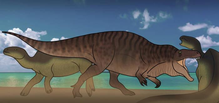Acrocanthosaurus Hunt