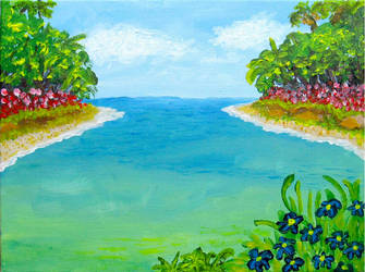 Paradise Cove by BlueMoonArt2000