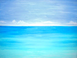 Sea of Tranquility by BlueMoonArt2000