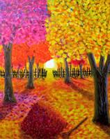 Autumn Light by BlueMoonArt2000
