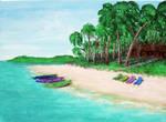 Island Hideaway by BelindaJensenWood