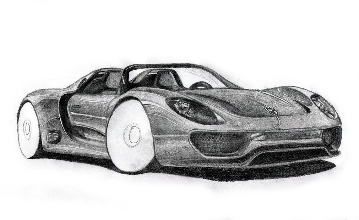 porsche 918 spyder concept car wip by ifaze on deviantart. Black Bedroom Furniture Sets. Home Design Ideas