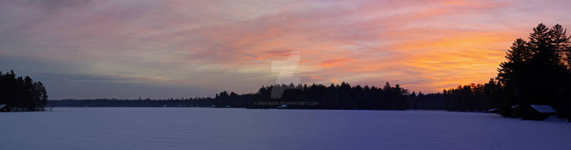 Saranac Winter Pano