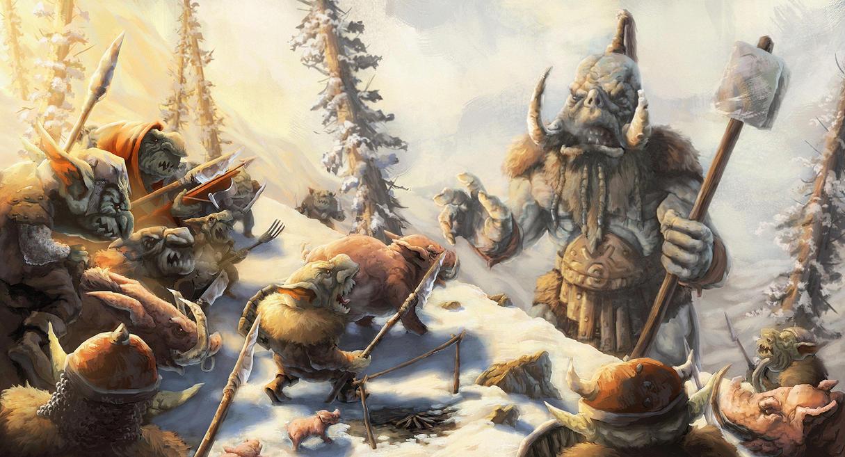 Snow Goblins by MattKatz