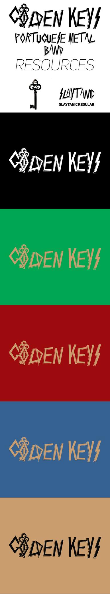 Golden Keys - logo by h3nrassc