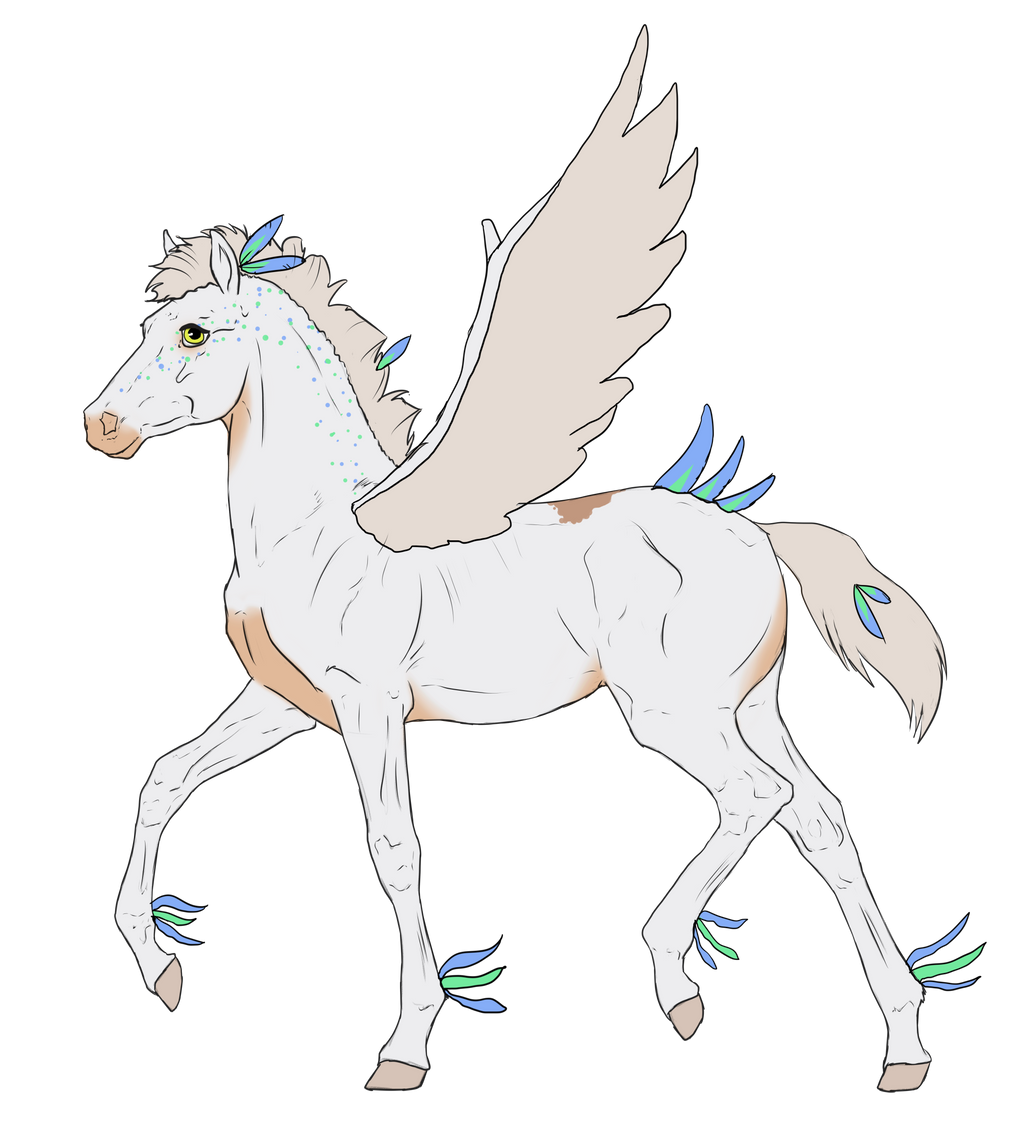 N2636 Padro Foal Design by casinuba