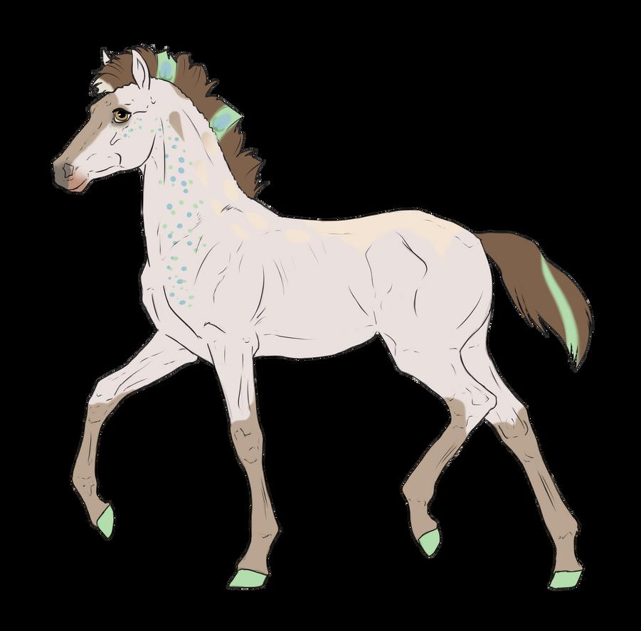 N2655 Padro Foal Design by casinuba