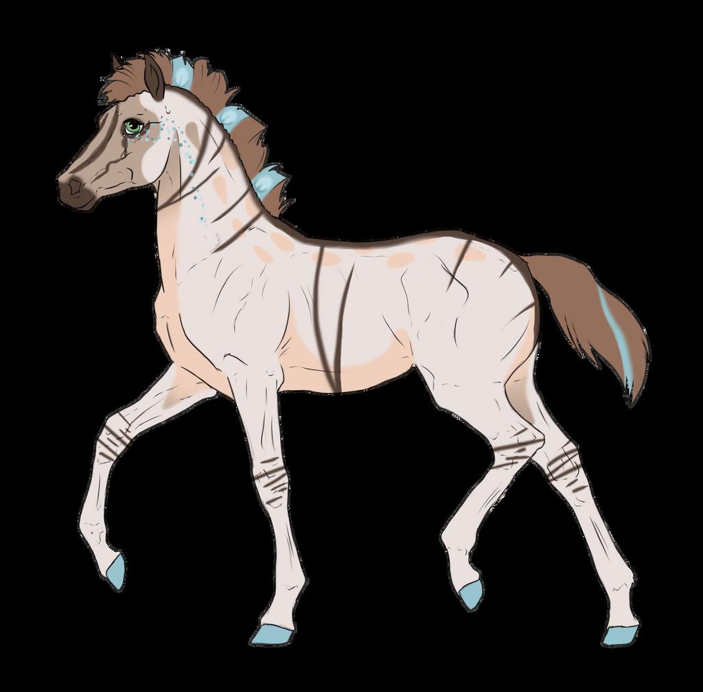 N2656 Padro Foal Design by casinuba