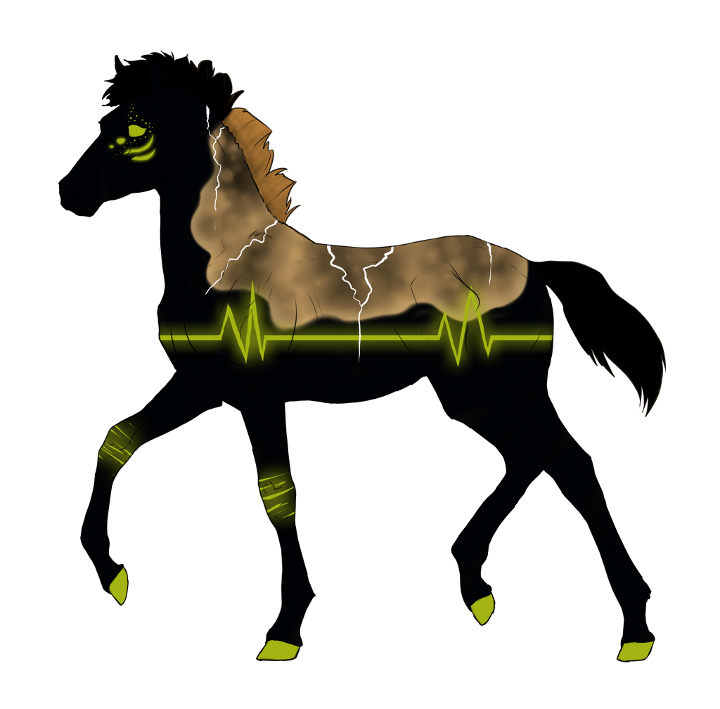 N2847 Padro Foal Design by casinuba
