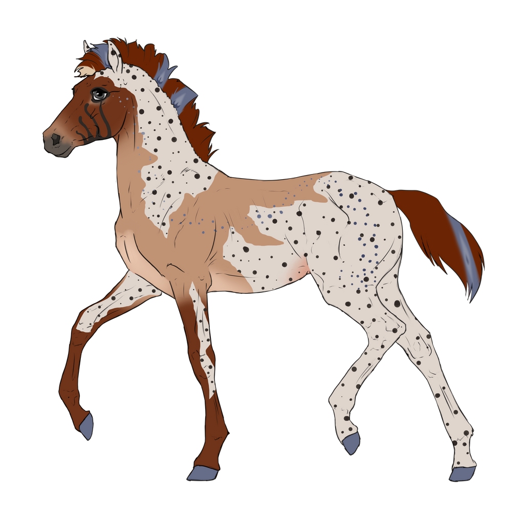 N2834 Padro Foal Design for DarkestNation by casinuba