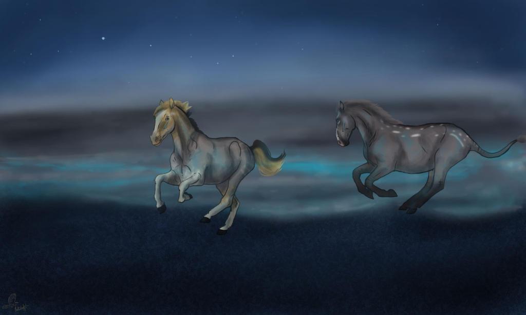 Blue Sands by casinuba