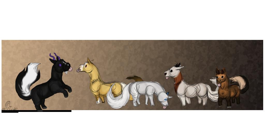 Derpy markhorses by casinuba