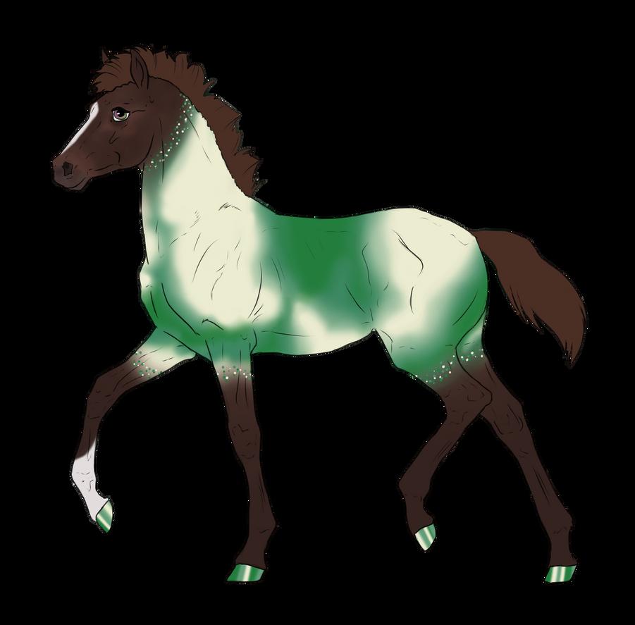 N2985 Padro Foal Design for DarkestNation by casinuba