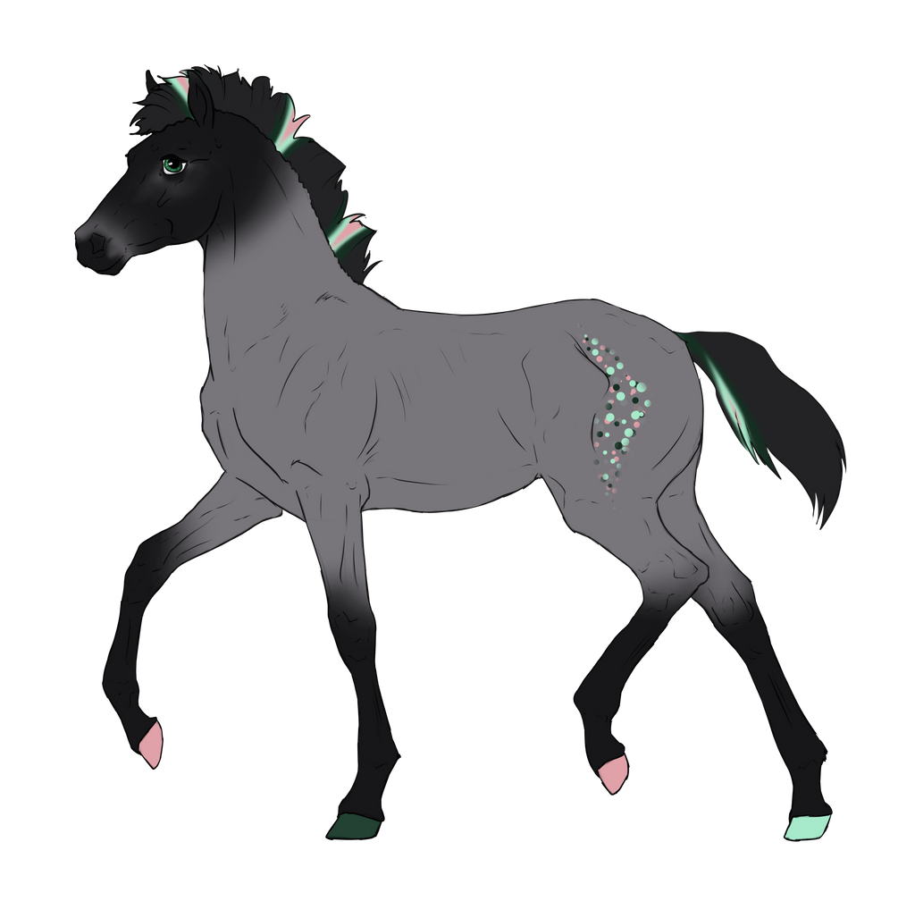 N2927 Padro Foal Design for MistMasquerade by casinuba