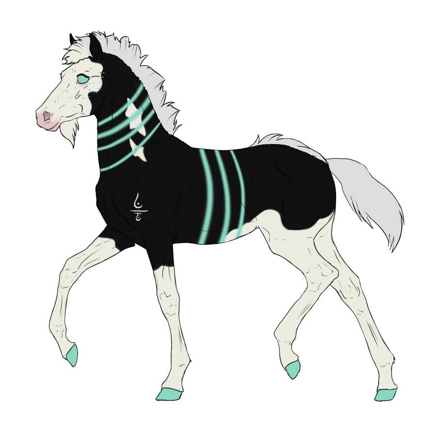 N3003 Padro Foal Design for DarkestNation by casinuba