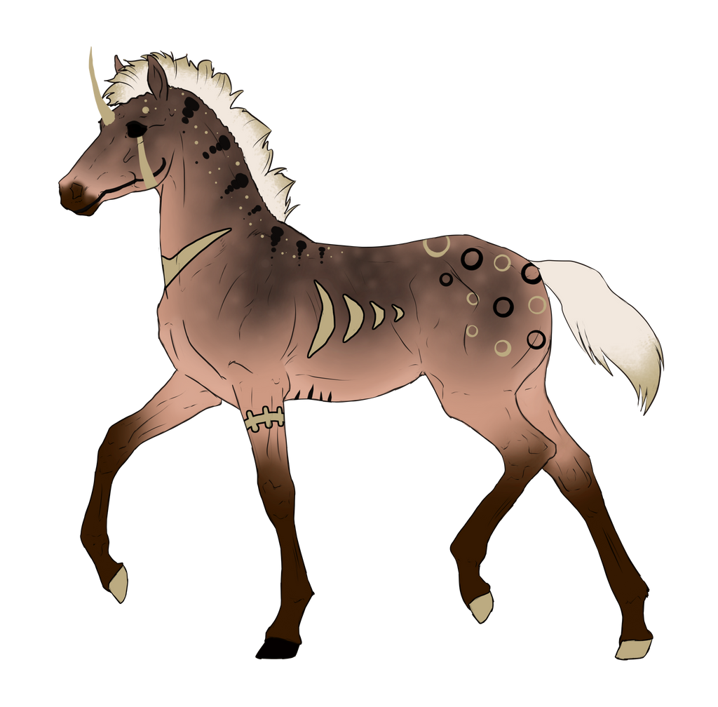 N2933 Padro Foal Design for MistMasquerade by casinuba