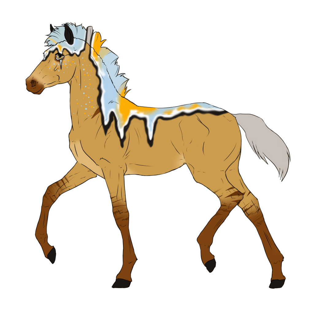 N3012 Padro Foal Design for RebeccaMArt by casinuba