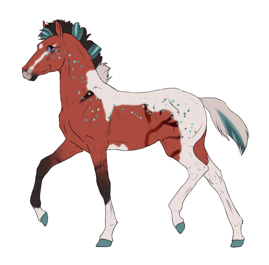 N3043 Padro Foal Design for DarkestNation by casinuba