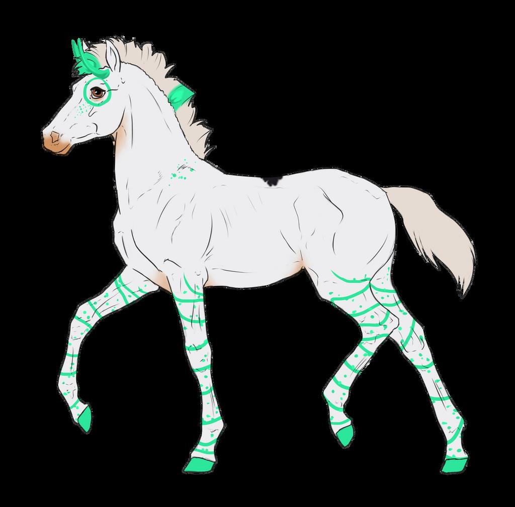 N3056 Padro Foal Design for Tamia-Grey by casinuba