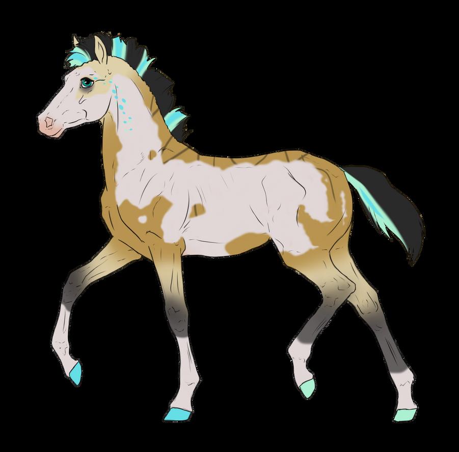 N3102 Padro Foal Design for DarkestNation by casinuba