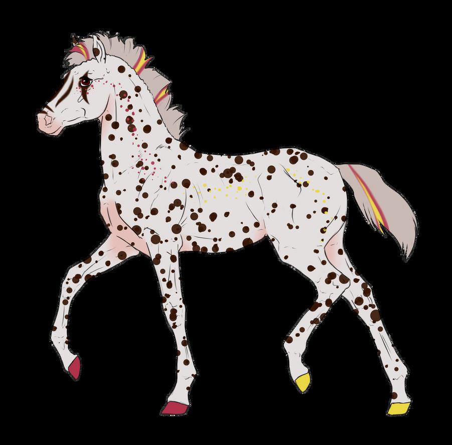 N3128 Padro Foal Design for DarkestNation by casinuba