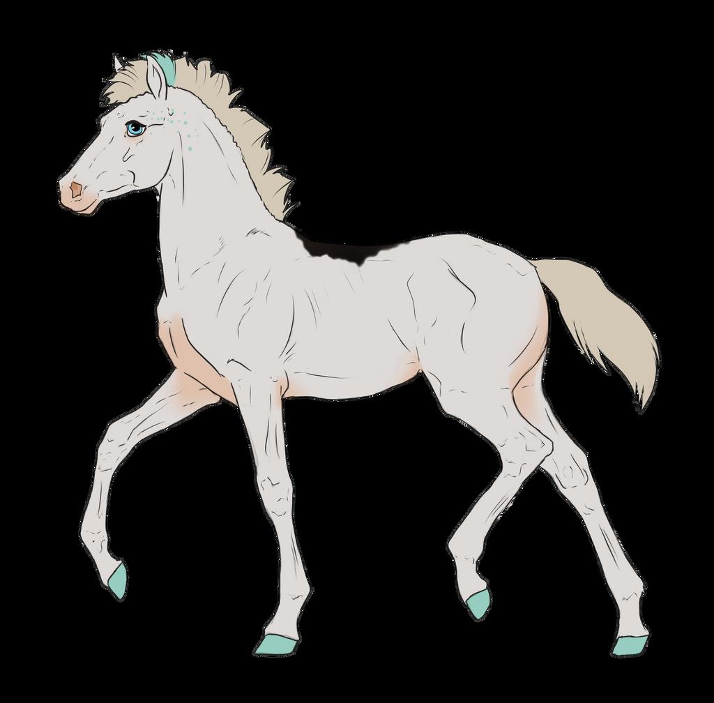 N3136 Padro Foal Design by casinuba