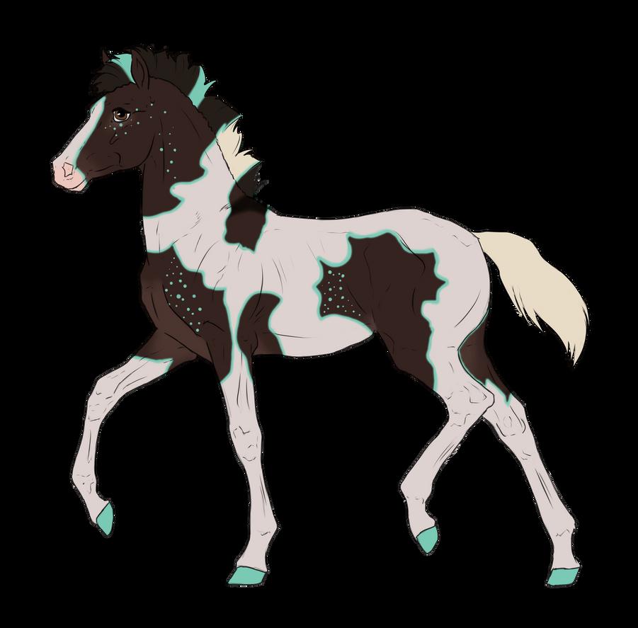 N3138 Padro Foal Design by casinuba