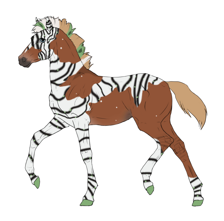 N3139 Padro Foal Design by casinuba