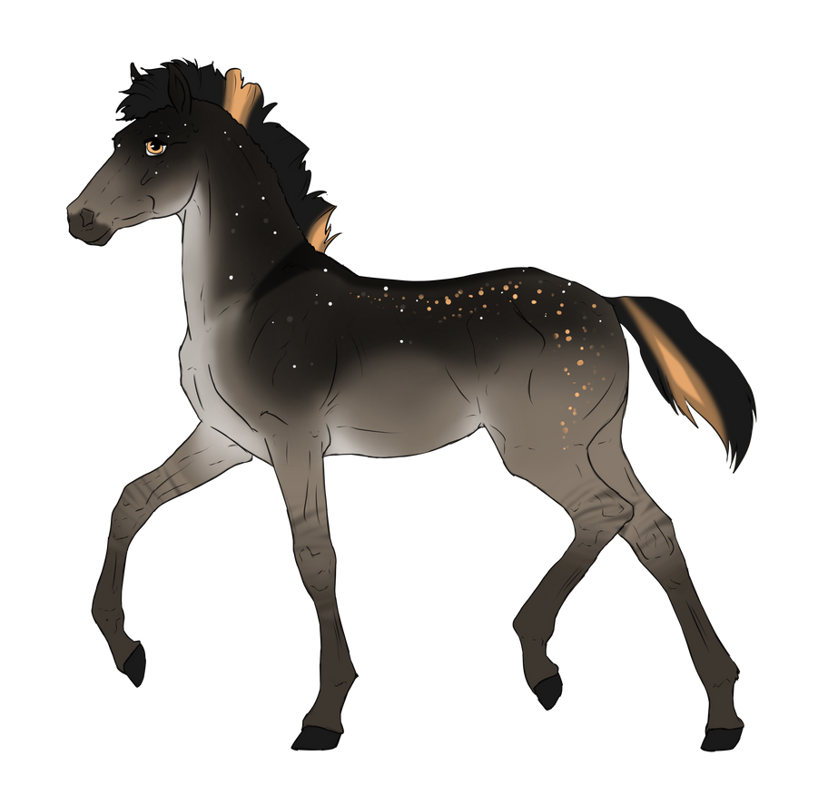 N3046 Padro Foal Design for KaitlyNicole by casinuba