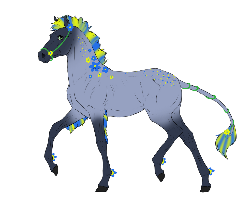 N3182 Padro Foal Design by casinuba
