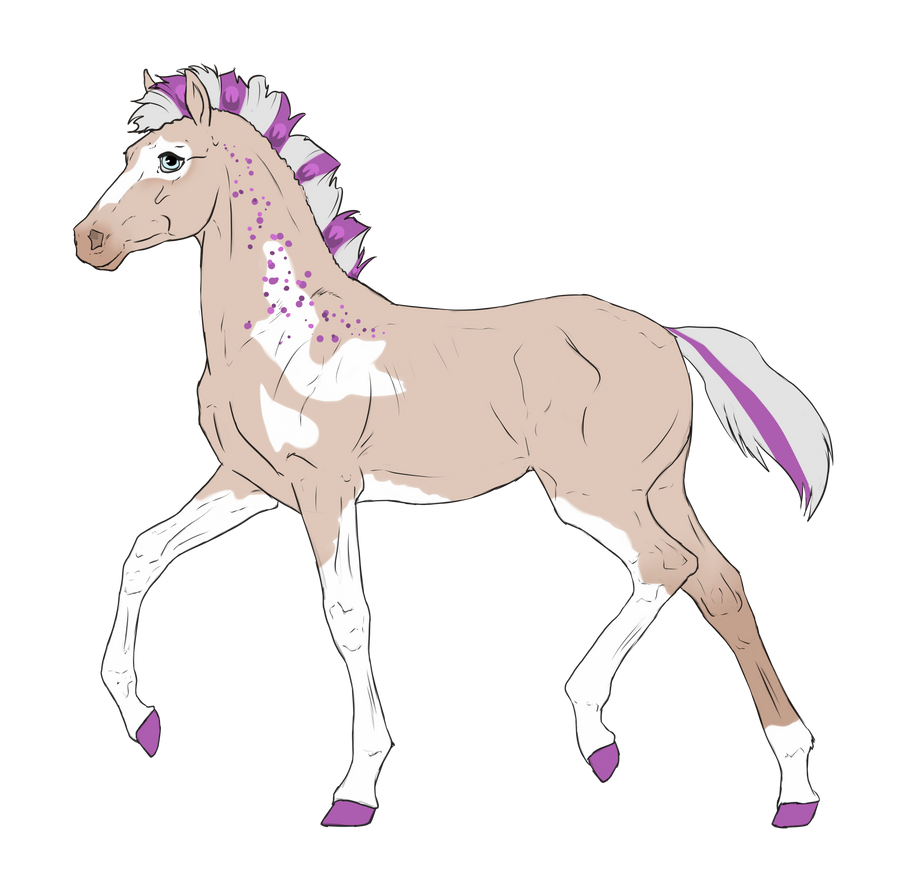 N3192 Padro Foal Design for theliondemon-kaimra by casinuba