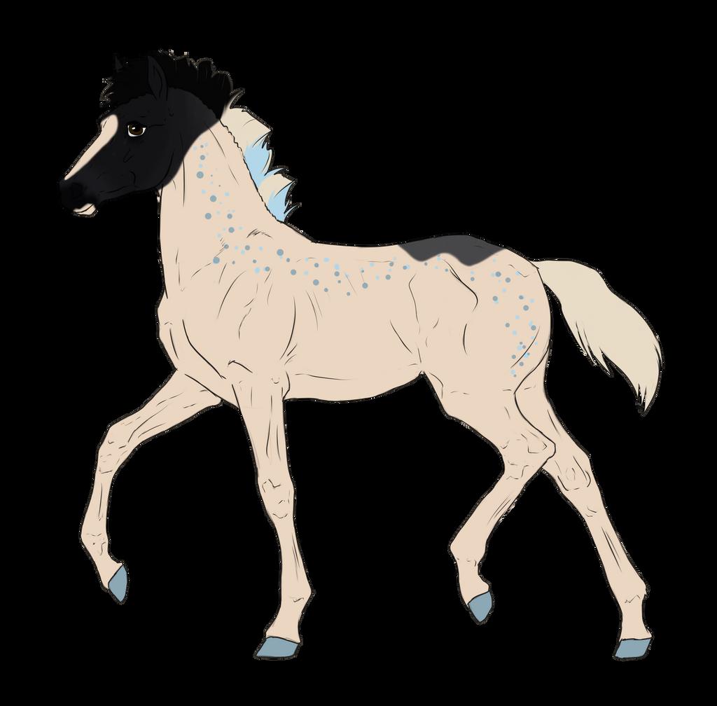 N3214 Padro Foal Design by casinuba