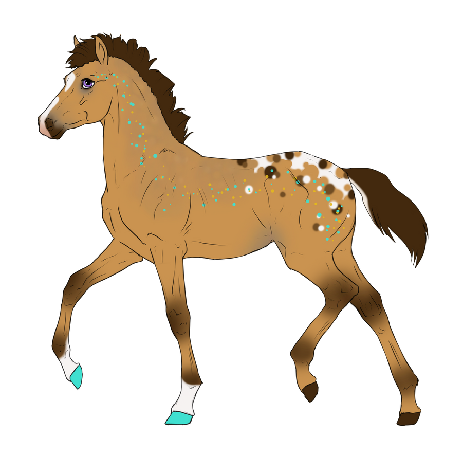 N3225 Padro Foal Design for DarkestNation by casinuba