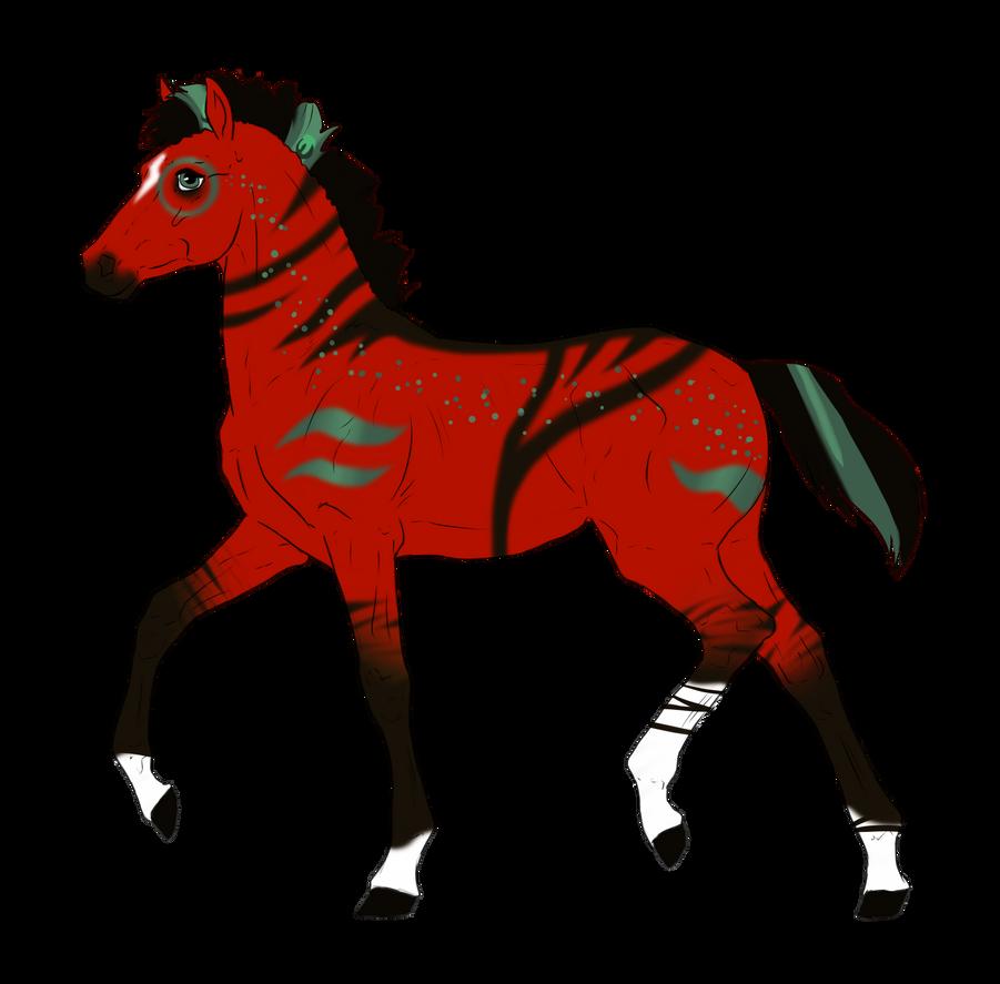 N3240 Padro Foal Design for DarkestNation by casinuba