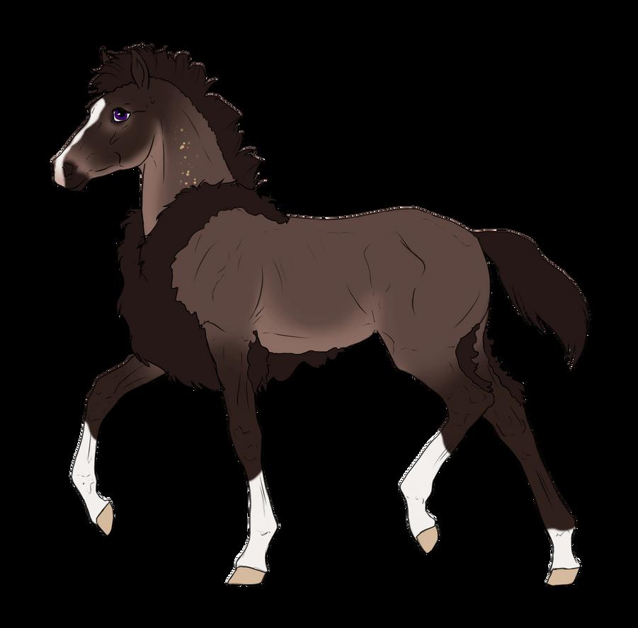 N3317 Padro Foal Design for IloveWerewolf1 by casinuba