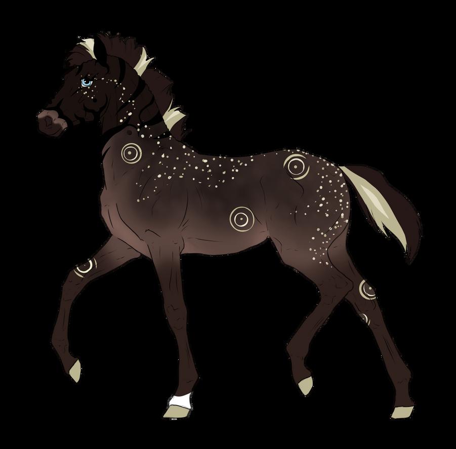 N3310 Padro Foal Design by casinuba