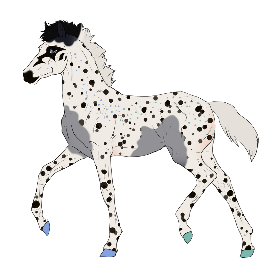 N3297 Padro Foal Design for horses0101 by casinuba