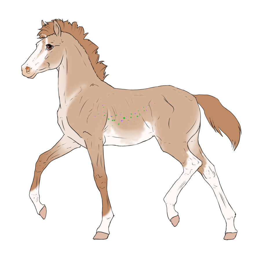 N3389 Padro Foal Design for Mini-Luicifer by casinuba