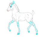 N6615 Padro Foal Design for Plants-And-Tattoos