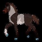 N7196 Padro Foal Design for Lilac-Sunset-Corgi