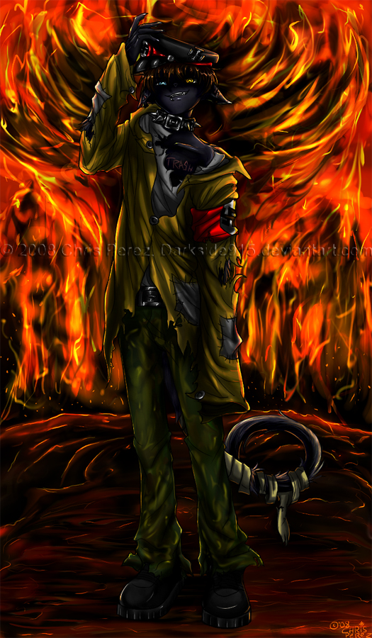 -Sieg Heil Stray- by Darkside915